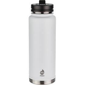 MIZU 360 V12 Enduro LE Bottle 1200ml with Straw Lid, white